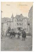 THIERS  (cpsm 63)    Château De L'Abbaye - Charriot à Boeufs -   - L 1 - Thiers