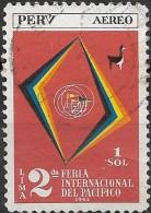 PERU 1962 Air. 20th Anniv Of Ecuador-Peru Border Agreement - 2s50  Frontier Maps FU - Peru