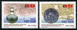 VIÊT-NAM 2016 - Porcelaines, Rélations Diplomatiques Avec Portugal, émission Conjointe - 2 Val Neufs // Mnh - Vietnam