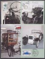 Berlin 1982 Old Cars 4v  4 Maxicards (33146) - [5] Berlin
