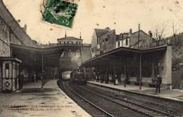 DPT 75 GARE DE MAISON BLANCHE Intérieur XIII ème Arrondissement - Gares - Avec Trains