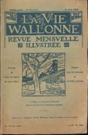 La Vie Wallonne -N°12 / Août 1926 -Sommaire:Voir Photo 2. - Cultura