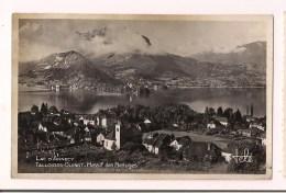74 - TALLOIRES : Vue De Talloires Et Château De Duingt - Lac D'Annecy - Timbre 1F Marianne Dulac Libération 1945 - - Talloires