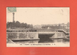 * CPA..dépt 75..PARIS 04  :  Le Métropolitain  à La Bastille   : Voir Les 2 Scans - Paris (04)