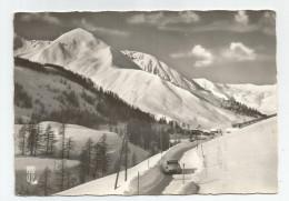 04 Basses Alpes - Le Foux D'allos Route Du Col  Voiture Ds Sous La Neige 1965 - Autres Communes