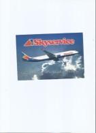 U.S.A. - SKYSERVICE - AIRBUS A330 AIRPLANE - AIRPORT - POSTCARD - Stati Uniti