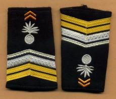 Infanterie - Commando De Choc - Fourreaux D´épaules De Caporal-chef - Uniforms