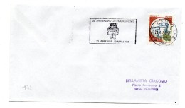 """BB132 - ITALIA  1995  , Lettera Con Annullo Targhetta """" ... LIBERAZIONE CENTO... """" - 1991-00: Storia Postale"""