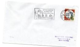 """BB134 - ITALIA  1995    , Lettera Con Annullo Targhetta """" ... LIBERAZIONE SETTIMO TORINESE... """" - 6. 1946-.. Repubblica"""