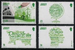 Europa 2016 - Jersey - Think Green - 4 Val Neufs // Mnh - 2016