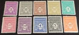 N°620 A 629  DE FRANCE NEUF ** LUXE  LE TIMBRES VENDU ET CELUI DU SCAN Lot 1715 - 1944-45 Arc Of Triomphe
