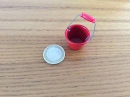 Mini Sceau Rouge - Furniture
