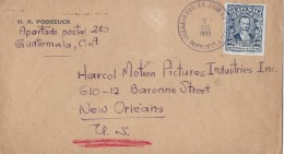 GUATEMALA - NEW ORLEANS → H.R. Podszuck An H.M. Pictures Industries Anno 1925 - Guatemala
