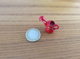Mini Arrosoir Métal Peint - Mobilier