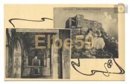 Sant'Oreste,  (Roma), Antica Abbazia Di S. Silvestro, Cartolina Multiview, Nuova - Italia
