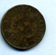 1884 2 CENTAVOS - Argentine