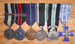 FINLAND FINNLAND SUOMI Ordensspange Spange Medal Bar Suojeluskunta Home Front Vapaussota 1918 1939 1940 1941 1945 - Altri Paesi