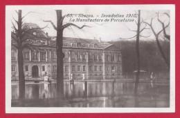 CPA Sèvres - Inondation De 1910 - La Manufacture De Porcelaine - Sevres