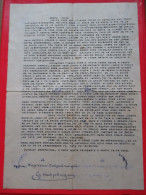 Letter From Political Prisoner After WW2 In Yugoslavia-Penal And Correctional Facility In Sremska Mitrovica - 1945-1992 Socialist Federal Republic Of Yugoslavia