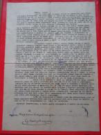Letter From Political Prisoner After WW2 In Yugoslavia-Penal And Correctional Facility In Sremska Mitrovica - 1945-1992 Socialistische Federale Republiek Joegoslavië
