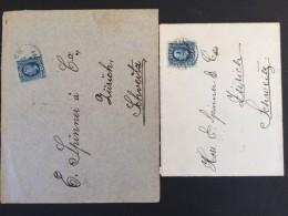 1901 Briefe Von Schweden Nach Der Schweiz - Suède
