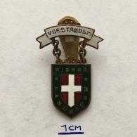 Badge (Pin) ZN003602 - Army (Military) WW1 Austria Wiener Landsturm VORSTANDSM - Army
