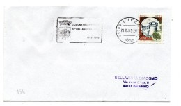 """BB154 - ITALIA  1995 LUCCA , Lettera Con Annullo Targhetta """" ...LIBERAZIONE SERAVEZZA.... """" - 6. 1946-.. Repubblica"""