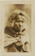 Real Photo Old South American Woman India Quechua Peru Bolivia Andes - Amérique