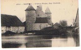 03..BEZENET LE CHATEAU  FEODAL  PUY CHATONIN  TBE  GG604 - France