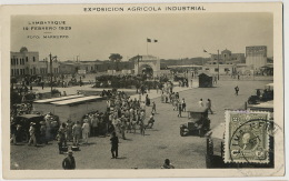 Real Photo Lambayeque 19 Febreo 1929 Exposicion Agricola Industrial Circulada To Francia Cartofilia Club Lima I.C.F. - Peru