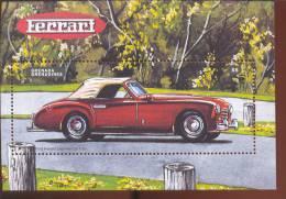 GRENADA   &   2057  FERRARI  MINT NEVER HINGED SOUVENIR SHEET OF CARS  # 271-2 ( - Auto's