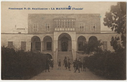 La Manouba Pensionnat N.D. Auxiliatrice Photo Combarel Ecole Catholique - Tunisie