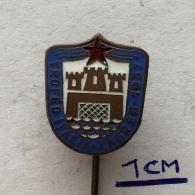 Badge (Pin) ZN003633 - Swimming / Water Polo Yugoslavia Croatia Zagreb Trofeo Italia 1957 - Water Polo