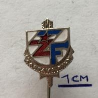 Badge (Pin) ZN003634 - Zastava Film Yugoslavia - Kino