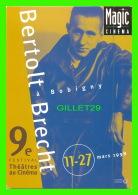 MÉTIERS, ÉCRIVAIN - BERTOLT BRECHT (1898-1956) À BOBIGNY EN 1998 - - Métiers