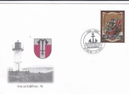Latvia FDC 1998 Ship (G64-80) - Ships