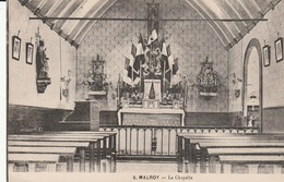 Vue  De L'intérieur De La Chapelle à MALROY - Metz Campagne