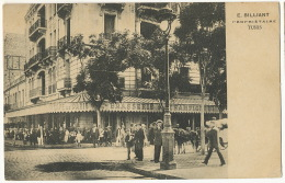 Tunis Café De Paris Brasserie De Champigneulles E. Billiant Propriétaire - Tunisia