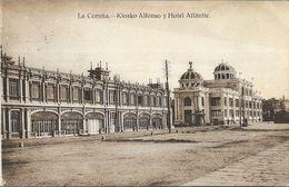 La Coruna - Kiosko Alfonso Y Hotel Atlantic - La Coruña
