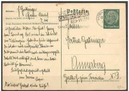 Germania/Germany/Allemagne: Intero, Stationery, Entiers - Casinò, Casino - Giochi