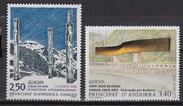 ANDORRA (FR) : Yvert 430-31 MNH – Europe CEPT 1993 - ART - French Andorra