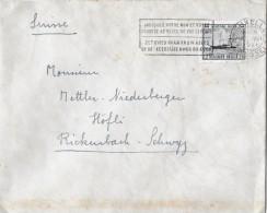 BRUXELLES/BELGIEN - RICKENBACH/SUISSE → Bedarfsbrief Anno 1946 - Covers & Documents