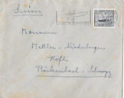 BRUXELLES/BELGIEN - RICKENBACH/SUISSE → Bedarfsbrief Anno 1946 - Briefe U. Dokumente