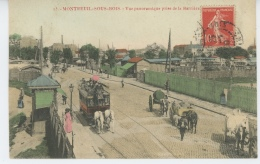 MONTREUIL SOUS BOIS - Vue Panoramique Prise De La Barrière - Montreuil