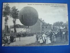 """ALSEMBERG : Souvenir De L'inauguration De L'éclairage Au Gaz """"cie Continentale"""" De La Commune D'ALSEMBERG In 1910 - Other"""