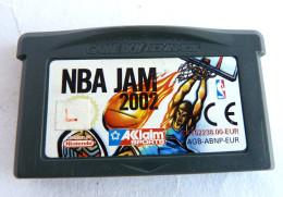 JEU NINTENDO GAME BOY  ADVANCE - NBA JAM  2002 - Nintendo Game Boy