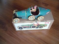 Blech Rennauto Faya  (345) - Antikspielzeug