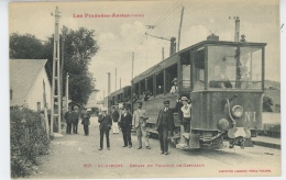 SAINT GIRONS - Départ Du Tramway De Castillon - Saint Girons