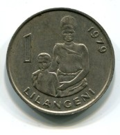 1979  Swaziland 1 Lilangeni Coin - Swaziland