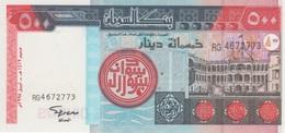(B0451) SUDAN, 1998. 500 Dinars. P-58. UNC - Soedan